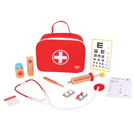 Wooden Medical Set