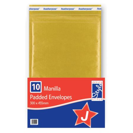 Office Style Padded Envelopes Gold J - 300 x 445mm