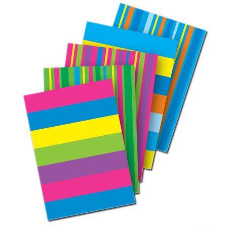 A6 Casebound Designer Notebook Asst