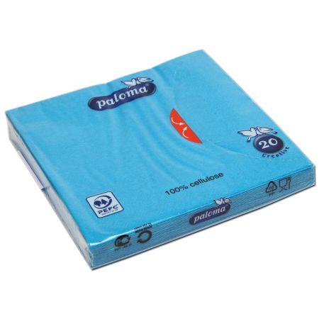 20 Aquamarine 33cm 3 Ply Napkins