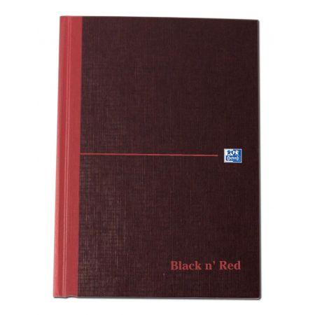 A5 Black & Red Books Ruled