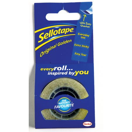 Sellotape 18mm x 25m Original Tape