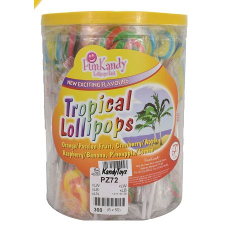 Tropical Lolly Tub