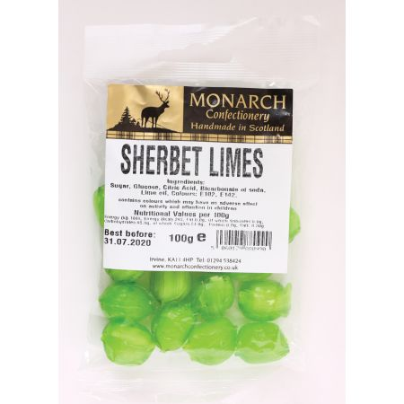Monarch Sherbet Limes