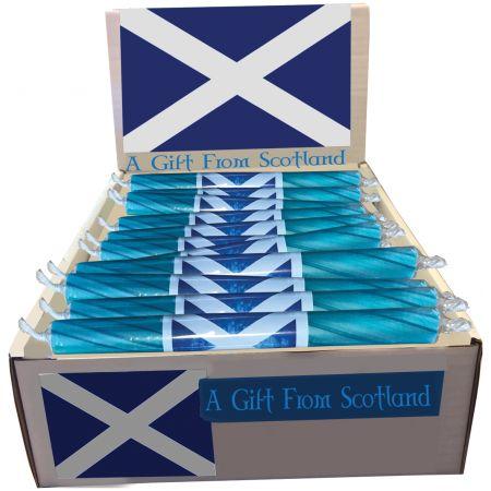 Scottish Flag Rock Sticks