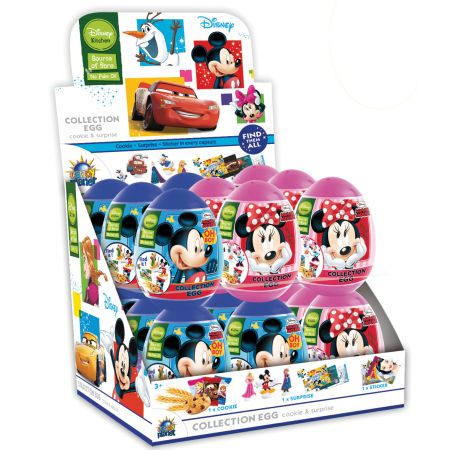 Mickey/Minnie Plastic Egg