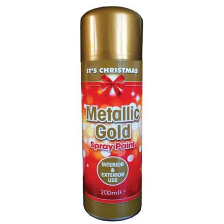Rapide 200ml Gold Metallic Spray