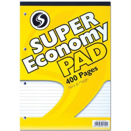 A4 Super Economy Refill Pad Yellow