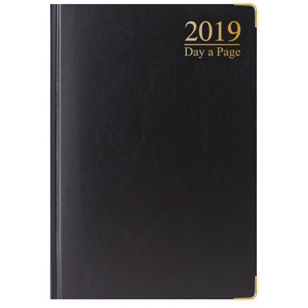 A5 Diary DAP Padded Cover Gilt Edged