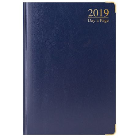 A4 Diary DAP Padded Gilt Edged