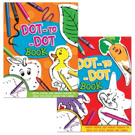 Dot To Dot Book 80gsm White Paper