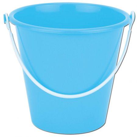 14cm Round Plastic Bucket Asst