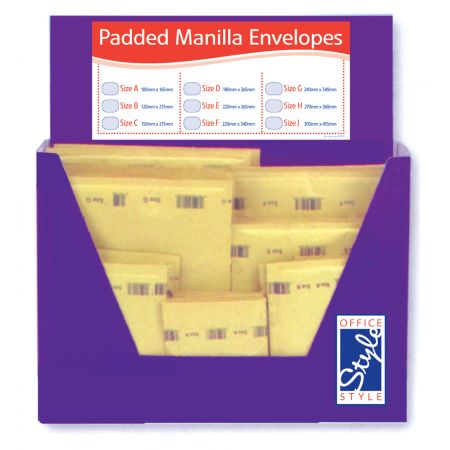 Office Style Padded Envelopes Gold Selection CDU