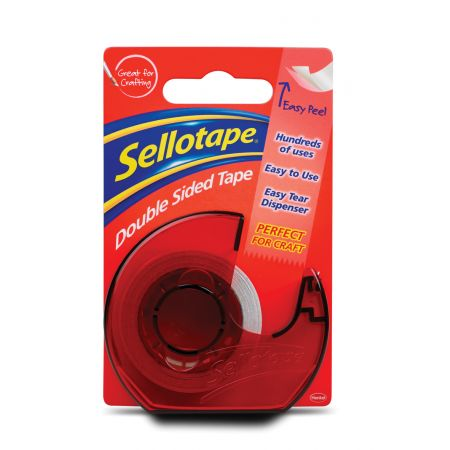 Sellotape 15mm x 5m DS Tape on Disp