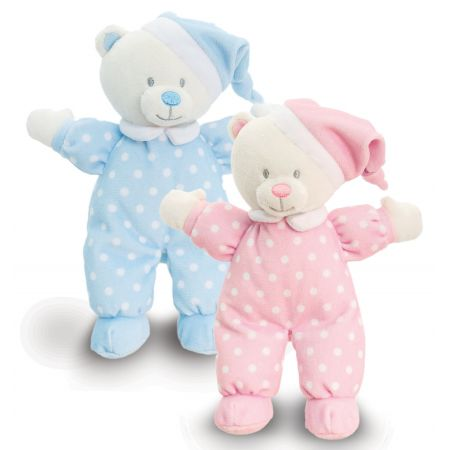 16cm Baby Goodnight Bear Asst