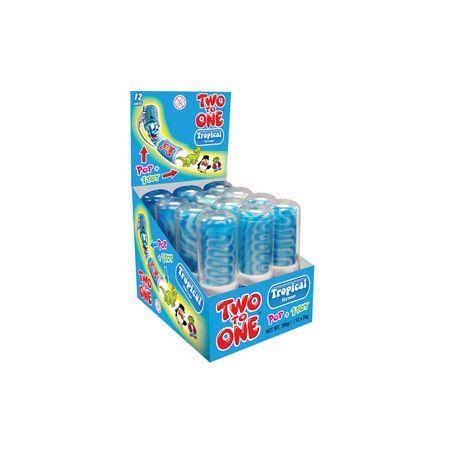 Two To One Pop + Toy Blue Raspberry
