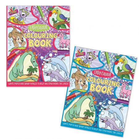 Colouring Book 80gsm White Paper