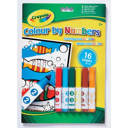 Crayola Colour By Numbers