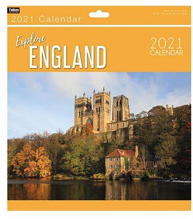 England Explore Calendar