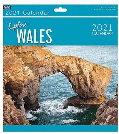 Wales Explore Calendar
