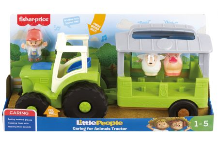 Little People Animals Tractor