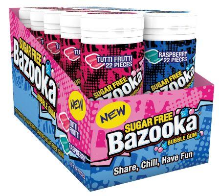 Bazooka Sugar Free Slimline Tube