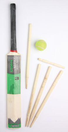 Size 3 Cricket Set Mesh Bag