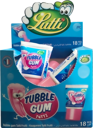 Tootie Fruity Tubble Gum