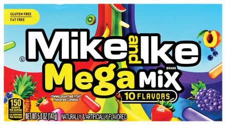 Mike & Ikes Mega Mix 141g