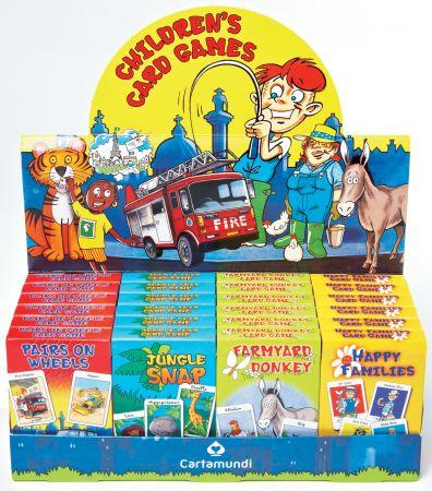Children's Card Games 4 Assorted Titles CDU