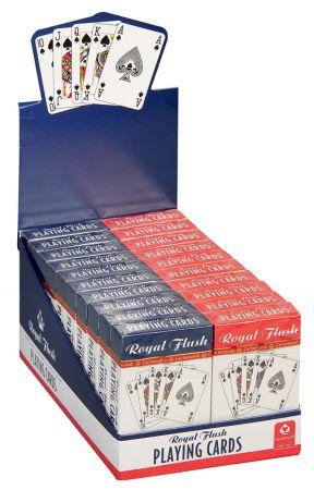 Royal Flush Playing Cards CDU