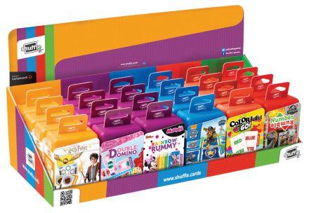 Shuffle Card Games Asst CDU