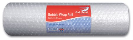 Owl Brand Bubble Wrap Roll 300mm x 3m CDU