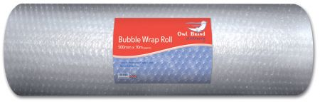 Owl Brand Bubble Wrap Roll 500mm x10m