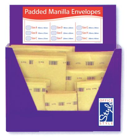 Office Style Padded Envelopes Gold Selection CDU