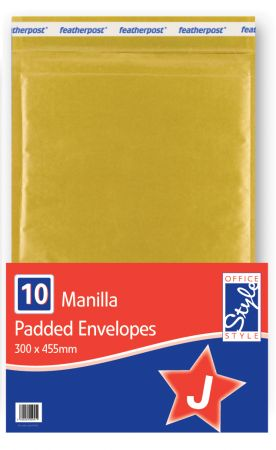 Office Style Padded Envelopes Gold J - 300 x 445mm