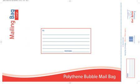 Owl Brand Polythene Bubble Mail Bag Large 290mm x 440mm