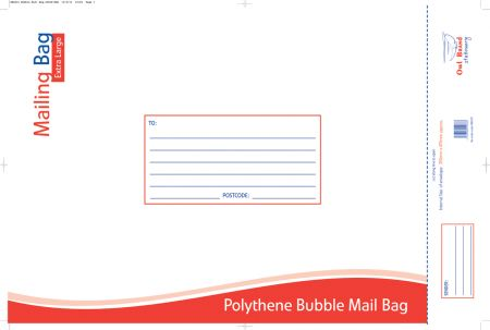 Owl Brand Bubble Mailing Bag Extra Large 350mm x 470mm