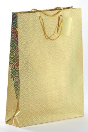 Holographic Gift Bag Assorted Colours Extra Large