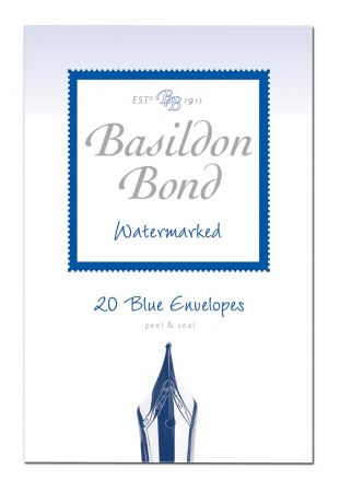 Basildon Bond 20 Duke Blue Envelopes