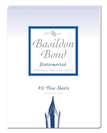 Basildon Bond Duke Blue Writing Paper 40 Sheets