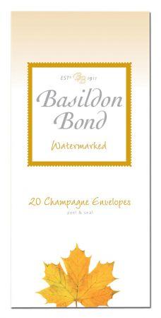 Basildon Bond 20 Champagne Envelopes