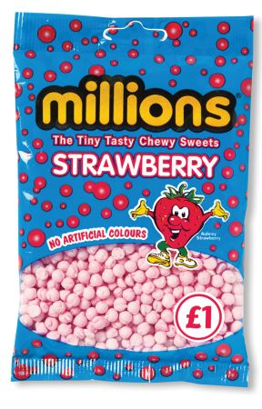 Millions Strawberry £1 Bags