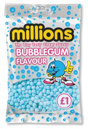 Millions Bubblegum £1 Bags