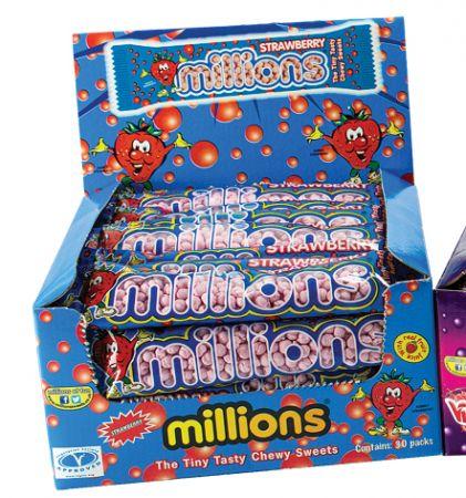 Millions Strawberry 45 g Tube