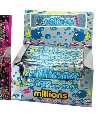 Millions Bubblegum 45 g Tube