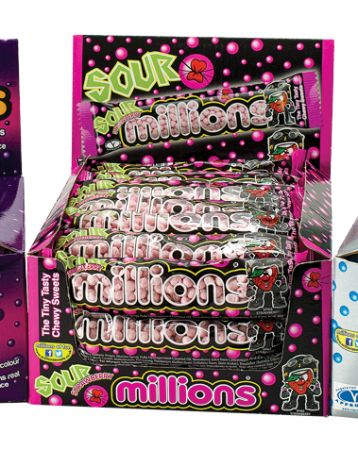 Millions Sour Strawberry 40g Tube