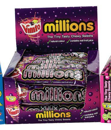 Millions Vimto 40g Tube