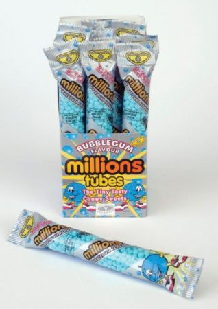 Millions Bubblegum 60g Tubes