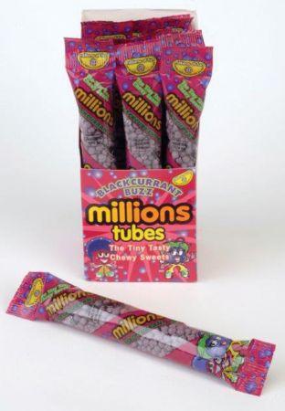 Millions Blackcurrant 60g Tubes